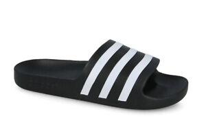 Detalles acerca de Zapatillas flip flop para hombre Adidas Adilette AQUA  [F35543]- mostrar título original