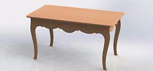 Details about Provencal Table Design For CNC Router Aspire ArtCAM VCarve  Vectors DXF Files