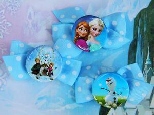 Disney-Frozen-Princess-Anna-Elsa-Inspired-Handmade-Hair-Clips-Dress-Up-Costume