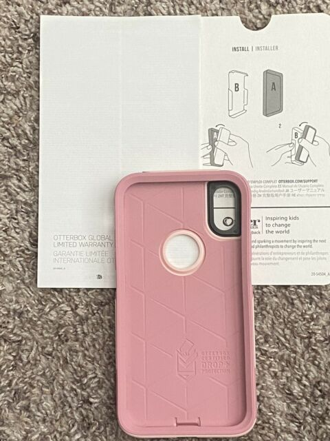 Otterbox Commuter Case For Apple iPhone XR - Ballet Way Color