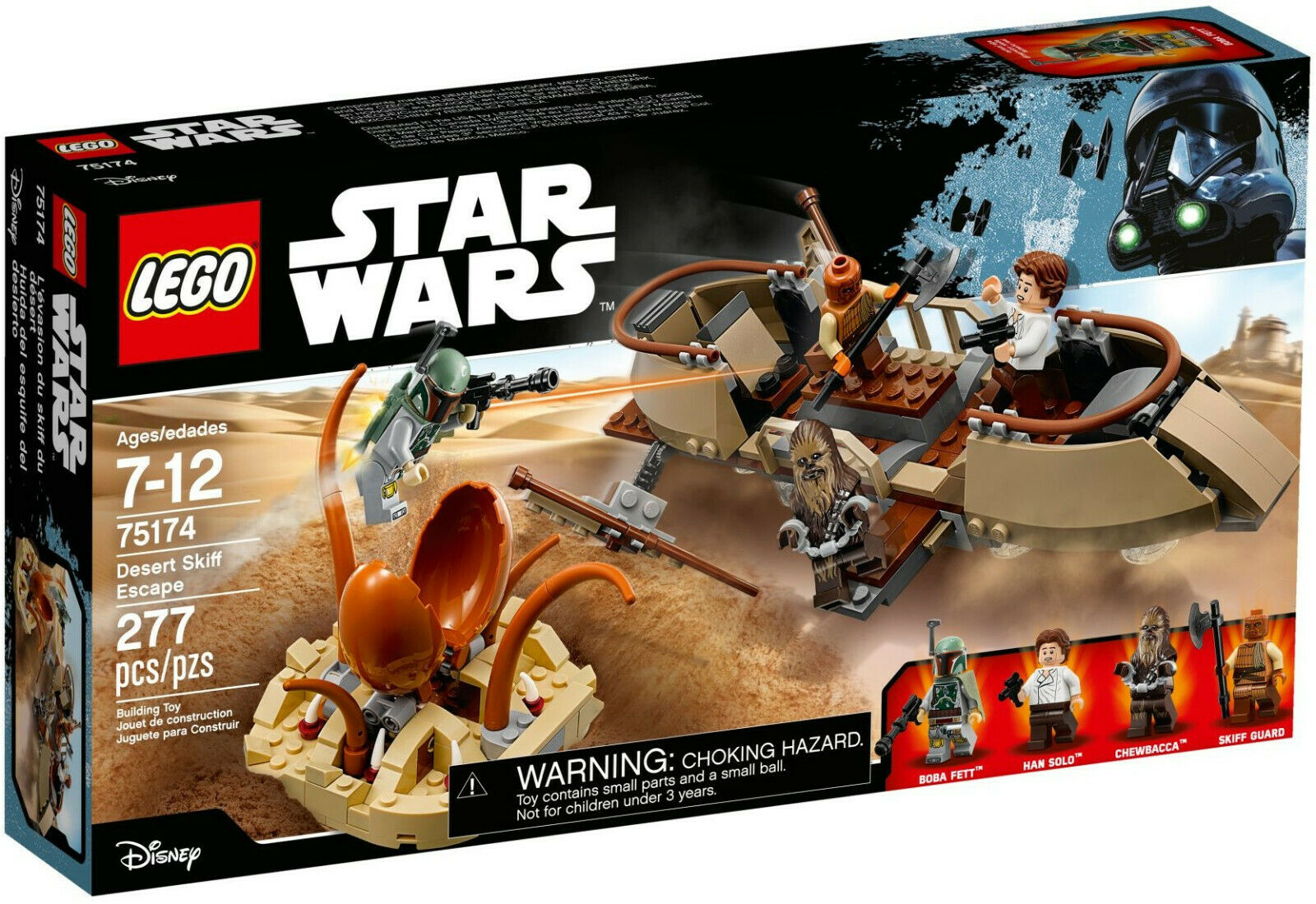 LEGO 75174 Star Wars Desert Skiff Escape Brand New In Sealed Box