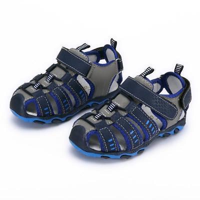 Infant Children Kids Shoes Boy Girl Closed Toe Beach Sport Sandals Shoes Sneaker