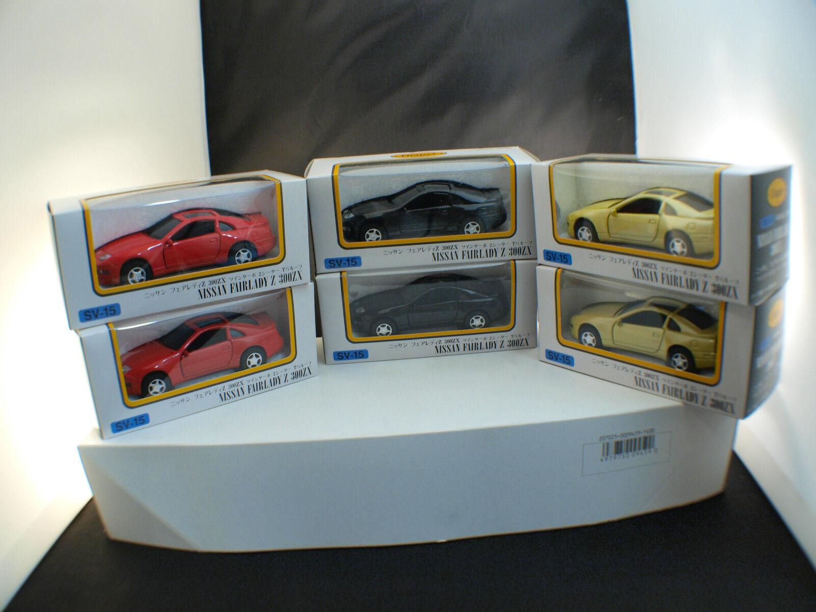 Yonezawa Toys Diapet Japan Sv-15 Boxset Nissan Fairadyz 300zx Box Retailer