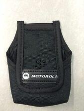 Newoem Motorola Minitor V 5 Nylon Pager Case With Belt Loop Clip Rln5699 3 4 5