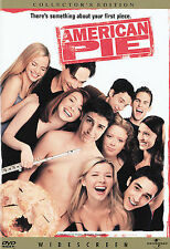 American Pie DVD 1999 Collectors Edition Widescreen English, French, Spanish Sub