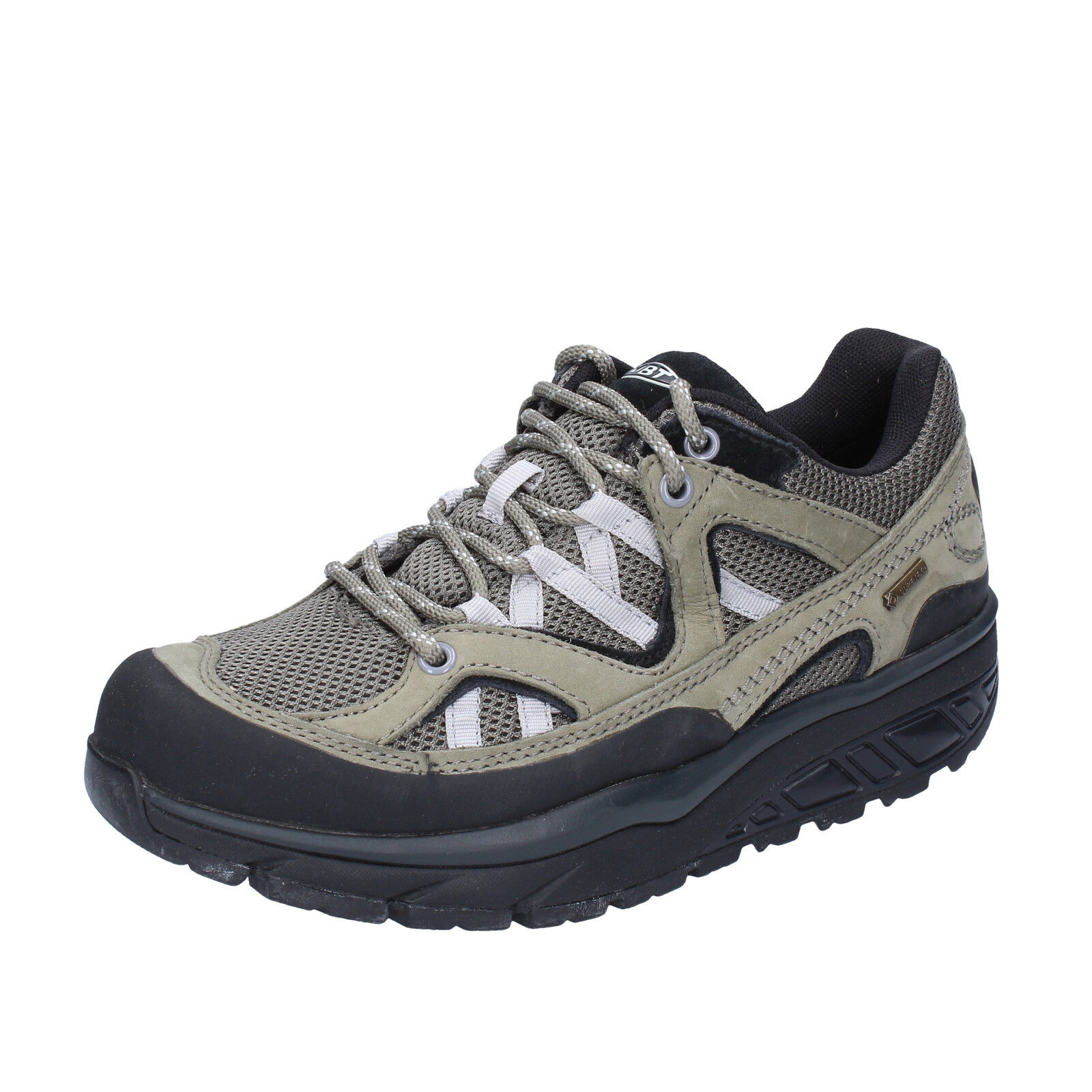 Scarpe donna MBT 35 EU scarpe da ginnastica verde grigio tessuto nabuk BT23-35   Economici Per    Uomini/Donna Scarpa