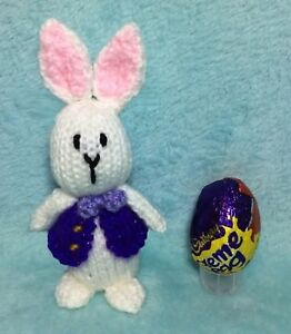 Toys KNITTING PATTERN Easter Bunny Creme egg cover Toys & Games