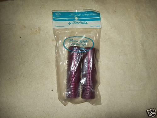 """Hunt-Wilde FLEXON plastique JR Grips Violet 7//8/"""" X 3 3//4/"""""""