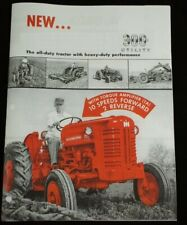 Ih International 300 Utility With Fast Hitch Ta Tractor Amp Implement Color Brochure