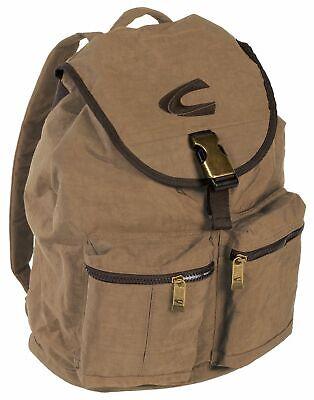 Camel Active Fun Journey Backpack S Zaino Borsa Sabbia Marrone Nuovo-mostra Il Titolo Originale