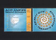 Acid Junkies - Paranoid Experience CD Album TECHNO HARD TRANCE ACID '94