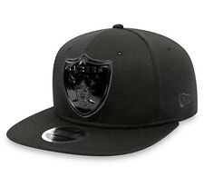 Oakland Raiders Cap New Era Cap Tonal Logo Weld 9FIFTY Snapback Cap New Size M/L