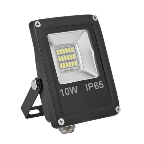 Waterproof LED Flood Light 12V 6500K Outdoor Wall Projector Floodlight Spot Lamp