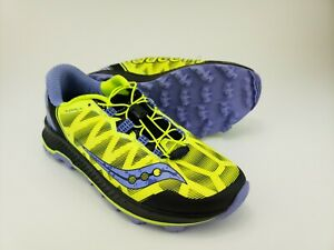 Saucony-Womens-Everun-KOA-MUD-Nylon-Athletic-Running-Sneakers-Yellow-Size-10-5