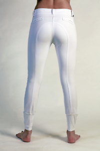 Animo Nodile silicone knee grip competition show breeches white size I 46