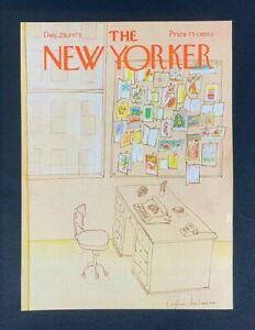 COVER-ONLY-The-New-Yorker-Magazine-December-29-1975-Eugene-Mihaesco
