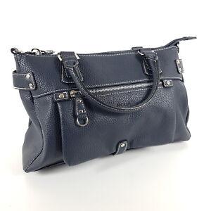 Picard-Handtasche-Loire-9893-Blau-Leder-Tragetasche-Shopper-Tasche-Neu