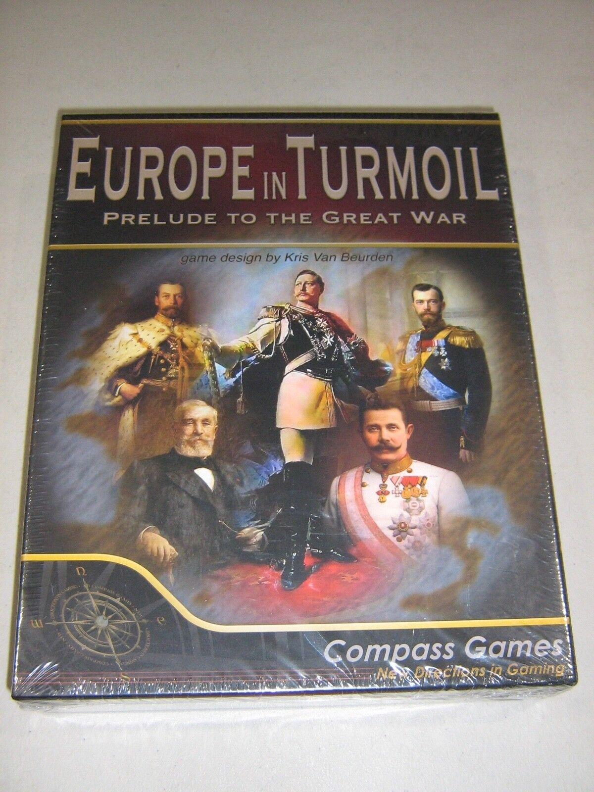 Europe in Turmoil  Prelude to the Great War (New)