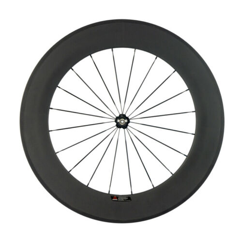 700C 88mm Full Carbon Wheelset Road Bike Clincher Bicycle Wheels Novatec 271 Hub
