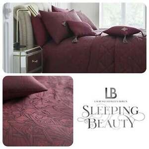 Laurence-Llewelyn-Bowen-FLORIAN-Art-Deco-Claret-Jacquard-Woven-Duvet-Cover-Set