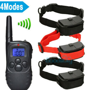 Waterproof Dog Training Collar With Remote Control Electric Pet Shock Vibration