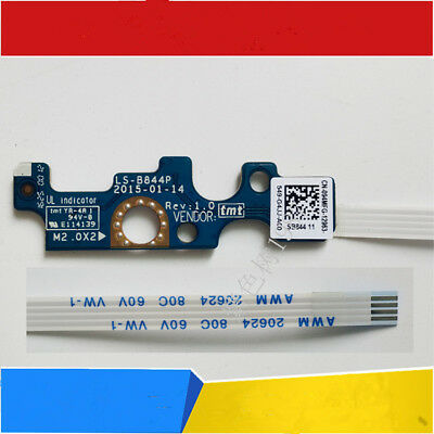 New Dell Inspiron 15 5555 5558 5559 5458 power switch button board LS-B844P