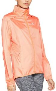 Running Ebay Wind Jacket Orange Salomon Womens Agile qSTwSPt