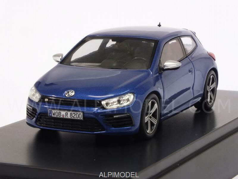 Volkswagen Scirocco R 2009 Metallic blu VW Promo 1 43 NOREV 1K8099300RR5Z