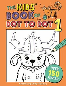 The-Kids-Book-of-Dot-to-Dot-1-Buster-Puzzle-Books-Emily-Golden-Twomey-Used