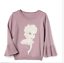 babyGap  Disney Baby Frozen Elsa princess shimmer bell sweater 18-24M 2t 3t 5t