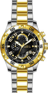Invicta-Men-039-s-S1-Rally-Quartz-Chrono-100m-Two-Tone-Stainless-Steel-Watch-26100