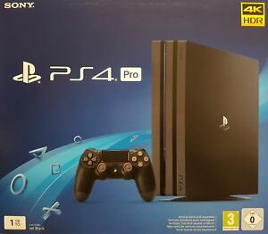 Sony-PlayStation-4-Pro-1TB-Konsole-Jet-Black-CUH-7216B-Neu-amp-OVP-Haendler
