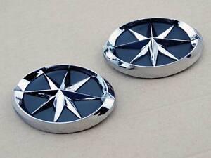 Set Metal 3D Chrome Spider Emblem Badge Sticker Motorcycles Fuel Tank Fairing