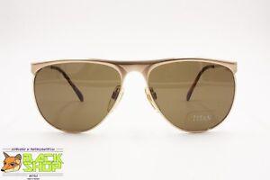 819 monture pour Vintage 003 homme Mod Titan de satin doré Lunettes en soleil Pininfarina Cfq04w8gxW