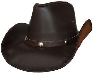 Image is loading Lucky-Trails-Dakota-Brown-Shapeable-Handmade-Leather- Western- 9e1e93bbd895