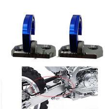 Billet Rear Brake Line Hose Clamp X2 For Kawasaki KLX250S 09-14 KX85 2001-2019
