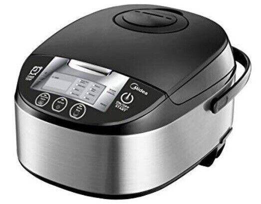 Midea 5 Qt 1 en 8-Tastemaker Cuiseur à riz multi-fonctionnel Cuisinière MMC1710-B,