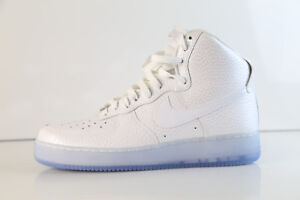 quality design 94834 9f0be Image is loading Nike-Womens-Air-Force-1-High-PRM-White-