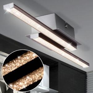 LED-Design-Deckenleuchte-Deckenlampe-Kristal-Staebe-Wohnzimmer-Lampe-Kronleuchter