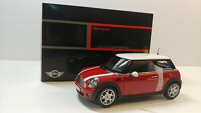 Mini Cooper Dealers >> 1 18 Kyosho Mini Cooper Bmw Dealer Versuin Red White Stripe Ebay