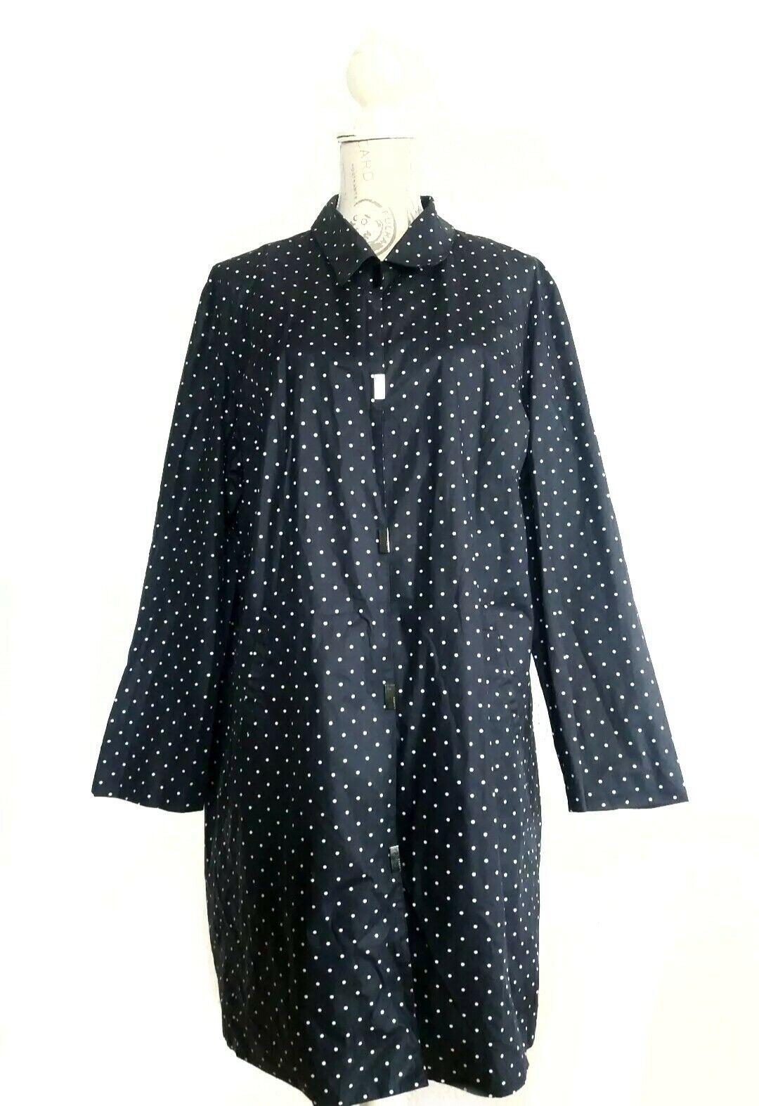 Ralph Lauren abrigo trench coat  talla d44 46 azul oscuro polka dot  Descuento del 70% barato