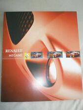 Renault Megane Sport brochure Sep 2003