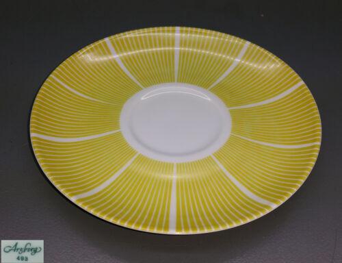 gelb 15 cm Form 2000 – Streifendekor Arzberg Kaffee Untertasse