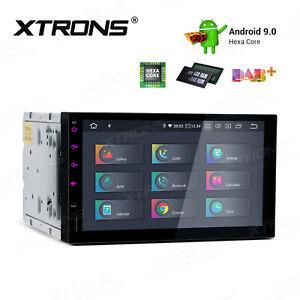 Android-9-0-7-034-6-Core-4-64GB-Car-Stereo-Radio-GPS-HDMI-Head-Unit-4K-64Bit-TPMS