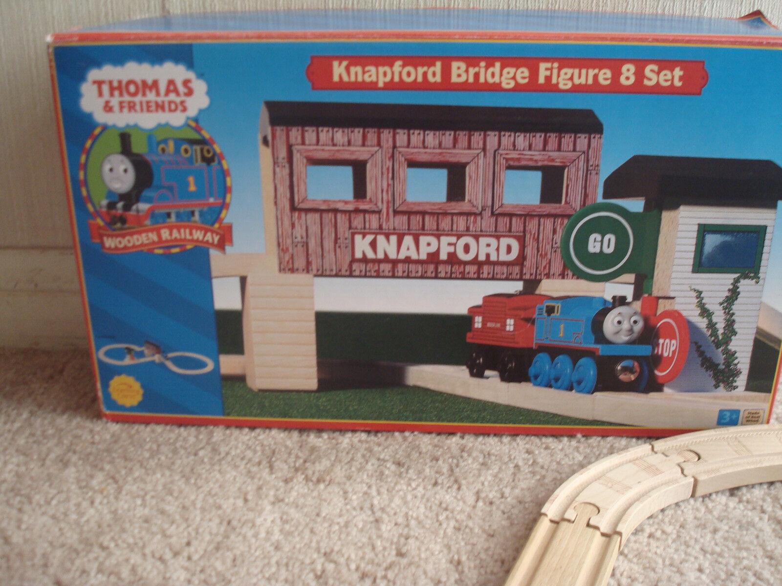 Thomas & Friends Wooden Railway Knapford Bridge Figure 8 Set Thomas Train Box
