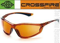 Crossfire Kp6 Copper High Definition Lens Safety Glasses Sunglasses Z87.1