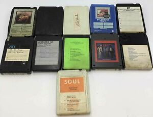 Lots of 11 A Track tapes- The O'Jays, Stevie Wonder, Dorothy Moore and more