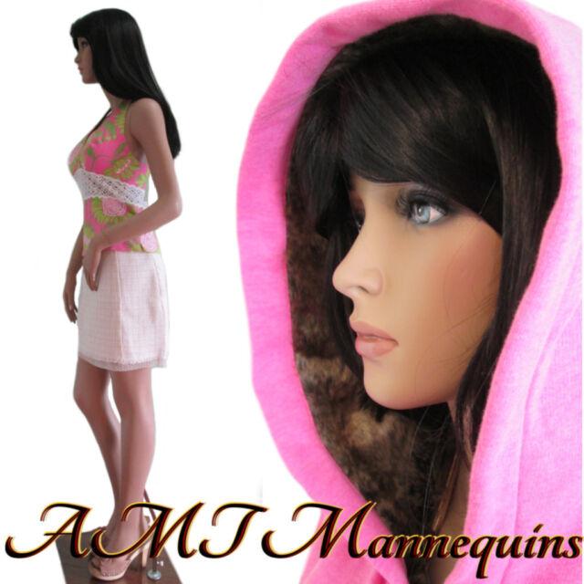 """35/25/35"""" hgt: 5ft-10 Female sexy mannequin, dress form manikin - Katie"""