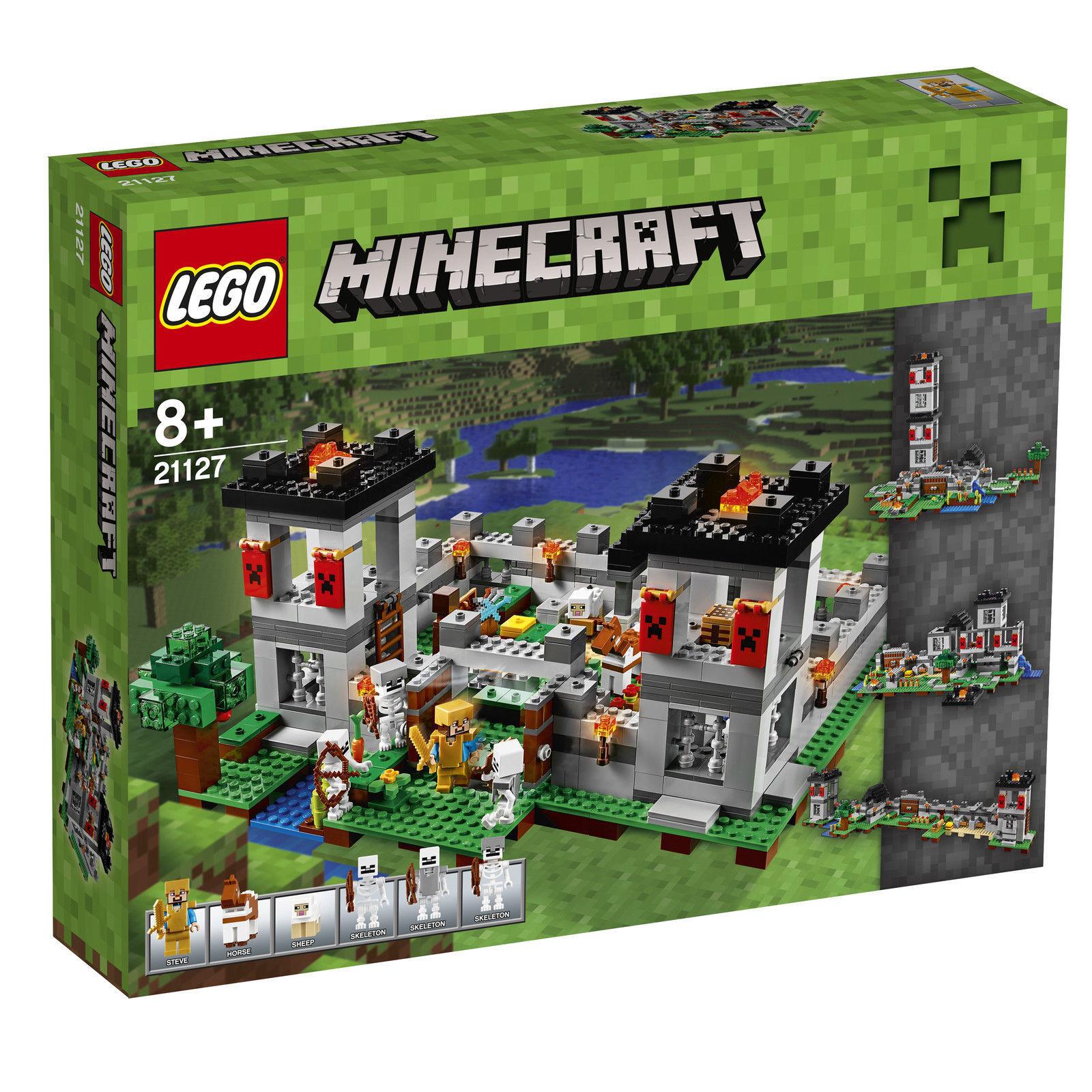 LEGO 21127 Minecraft Die Festung NEU & OVP