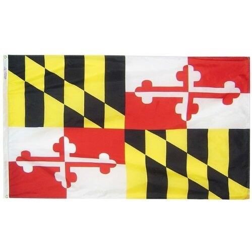 150 Denier State of Maryland Baltimore Ravens Flag 4x6 Foot Flag Banner